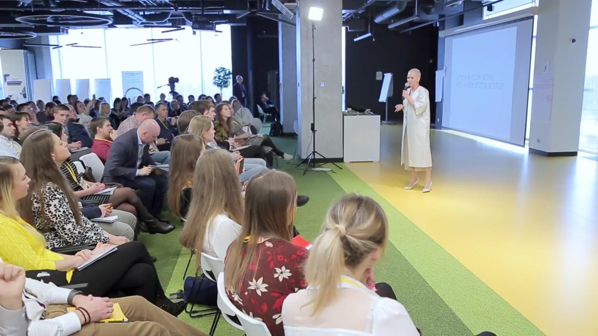 Выступление Дарьи Кабицкой на форуме «Окно возможностей»
